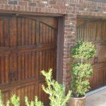 garage door-wood