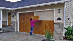 Wood Garage Door Coating